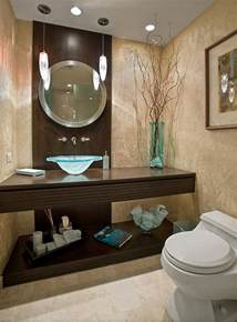 guest bathroom powder room design ideas 20 photos - Guest Bathroom Design Ideas