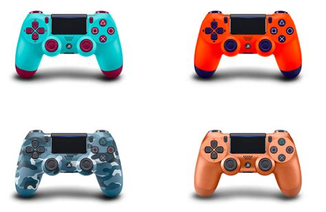 sony releases ps4 dualshock controller in four bright new