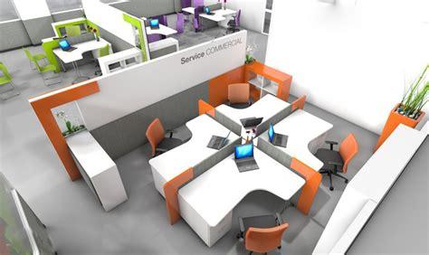 bureau collectif agencement bureaux open space idée bureaux entreprise