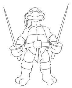 mewarnai gambar Guru Splinter kura kura ninja Mewarnai