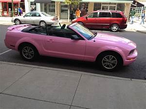 Mustang as the Greene this summer!! (With images)   Pink mustang, Pink mustang convertible ...