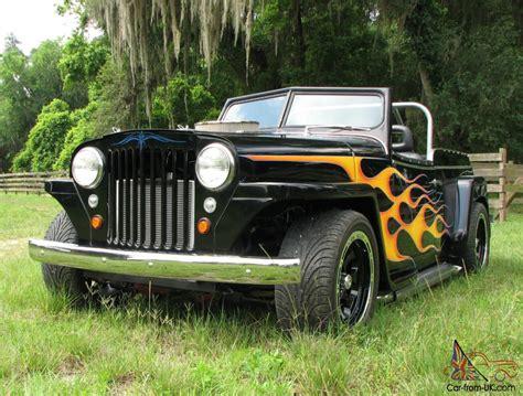 custom willys jeepster 1948 custom willys overland jeepster street rod