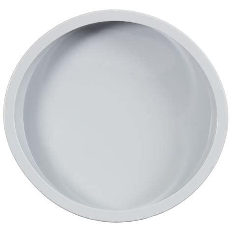 tray round baking silicone grey kitchen bakeware