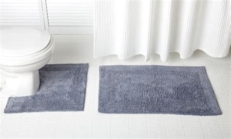 hotel collection bath rugs grand hotel collection bath mat set