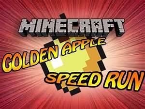 Minecraft: Golden Apple Speed Run - World Record with ...