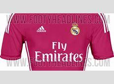 Pink Jadi Warna Jersey Tandang Real Madrid 201415 Bolanet