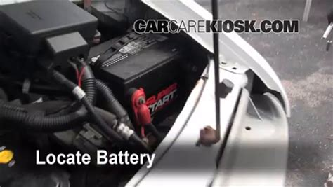 Chevy Expres Fuse Box Replacement by Battery Replacement 1990 2005 Chevrolet Astro 2001