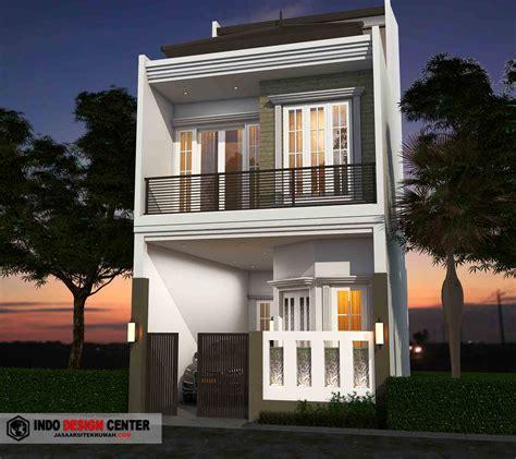 desain rumah  lantai terbaru elegan  modern jasa