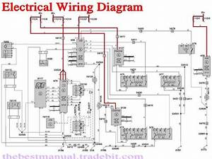 Volvo S40 V40 2000 Electrical Wiring Diagram Manual