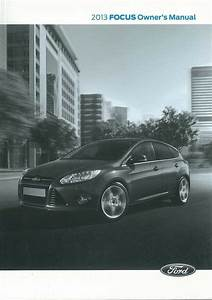 2013 Ford Focus Owners Manual User Guide Reference