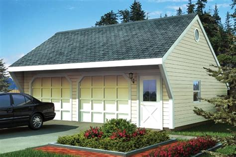 Saltbox Garage by Saltbox Style 2 Car Garage Plan 6014