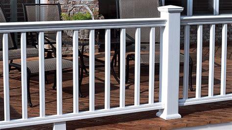 certainteed decking vs trex installation evernew railing porch deck