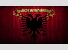 Albanian Flag Wallpaper ·①