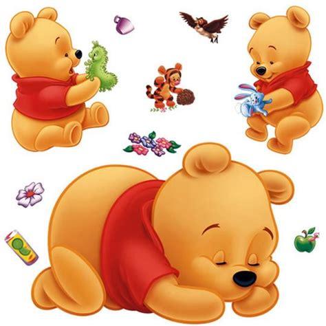 chambre bebe winnie l ourson bébé winnie l 39 ourson stickers muraux achat vente