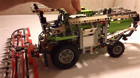 Lego Technic Combine by Hd Lego Technic 8274 Combine Harvester Review