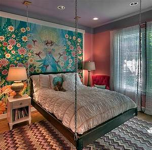 21, creative, accent, wall, ideas, for, trendy, kids, u2019, bedrooms