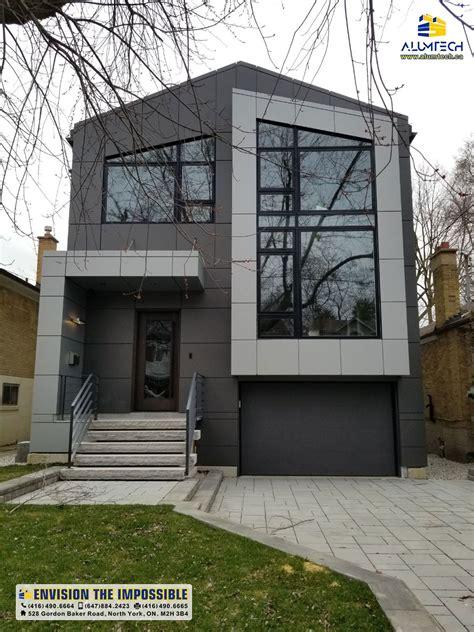 alumtech residential acp cladding aluminum composite panel  toronto
