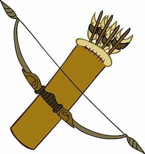 Indian Bow And Arrow Clipart - Clipart Suggest