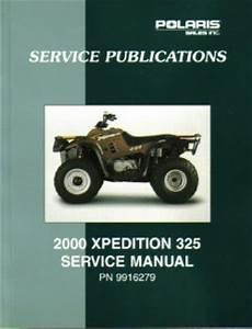 2000 Polaris Xpedition 325 Service Manual