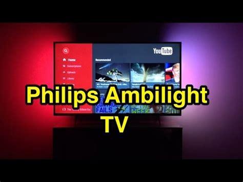 Tv 4k Philips Ambilight Philips Ambilight 4k Smart Tv Review 43pus6401 6400 Series