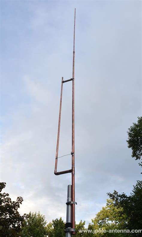 low power fm lpfm broadcast antenna kb9vbr j pole antennas