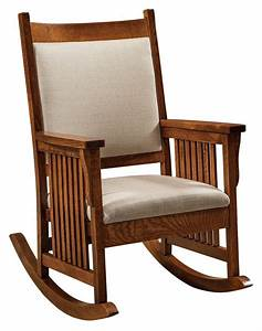 amish mission craftsman rocking chair rocker slat sides With amish rocking chair for sale