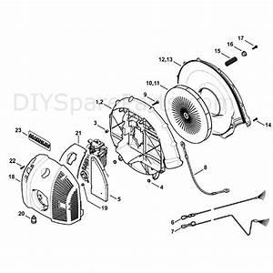 Stihl Br 500 Z Backpack Blower  Br 500 Z  Parts Diagram