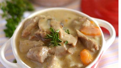 cuisiner la blanquette de veau recette de blanquette de veau à l 39 ancienne
