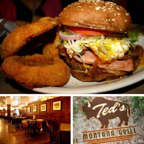 Chain Reaction: Ted's Montana Grill   Serious Eats