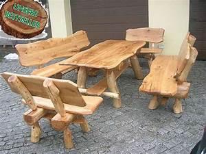 Holz Sitzgruppe Garten Massiv : eiche h 250 cm vollholz eichenholz rustikale gartengarnitur gartenm bel neu sitzgruppe ~ Eleganceandgraceweddings.com Haus und Dekorationen