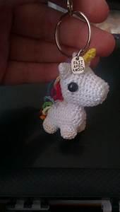 Porte Clef Licorne : porte clef licorne unicorn keyholder crochet amigurumi la hy ne laineuse en 2018 pinterest ~ Teatrodelosmanantiales.com Idées de Décoration