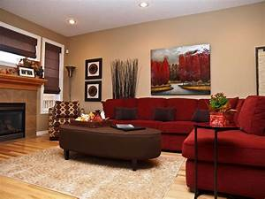 Home Design : 87 Inspiring Red Sofa Living Rooms