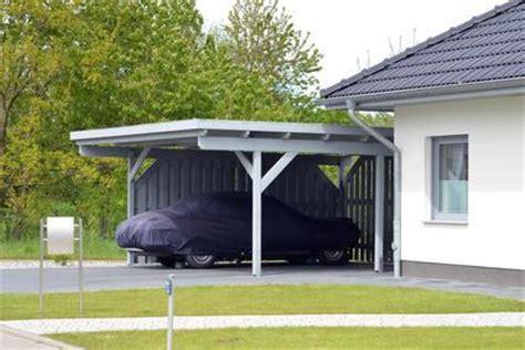 carport oder garage vor und nachteile markt de