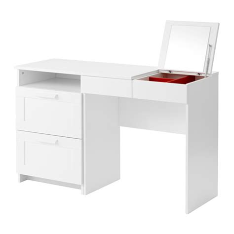 coiffeuse chambre fille brimnes coiffeuse commode 2 tiroirs ikea