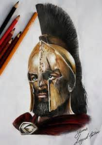 300 Spartan Warrior Tattoo