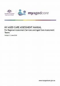 Guidance For Aged Care Assessors