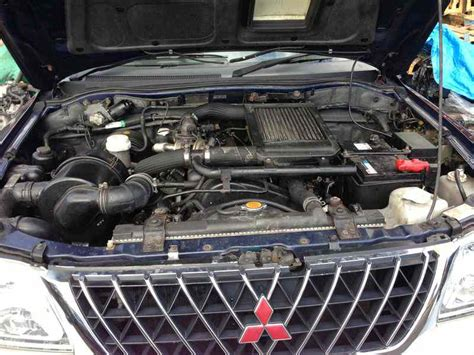 mitsubishi engine pictures ideal engines review 2003 mitsubishi l200 diesel 2 5
