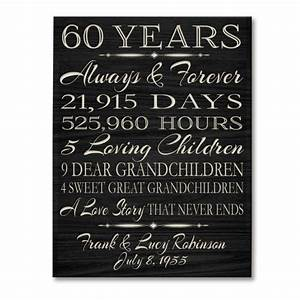 gift ideas for 60th wedding anniversary gift ftempo With 60th wedding anniversary gift ideas