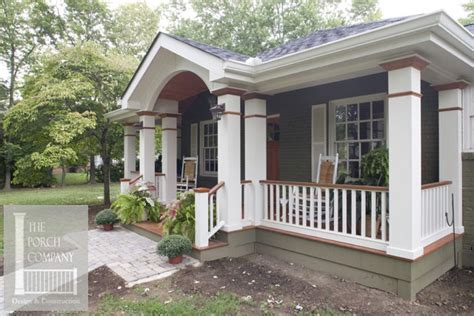 front porch construction details stunning befores afters