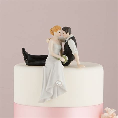The Look Of Love Romantic Wedding Cake Topper Personalized