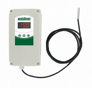 Jddt1 Adjustable Digital Thermostat  Wired  From Acf