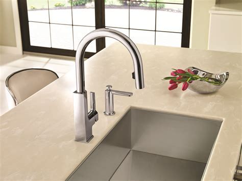 WHY TOUCH YOUR KITCHEN FAUCET WHEN YOU DON?T HAVE TO? MOEN