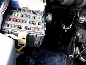 Honda Civic 2007 Lx   Fuse Box    Ac