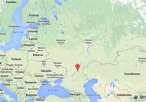 Where is Volgograd map Russia | World Easy Guides