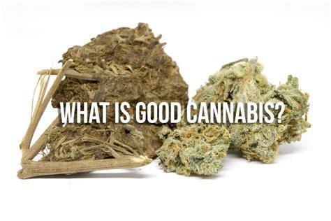 good weed  bad weed   evaluate cannabis quality