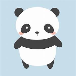 Kawaii Panda Bear T-Shirt - Panda - T-Shirt TeePublic