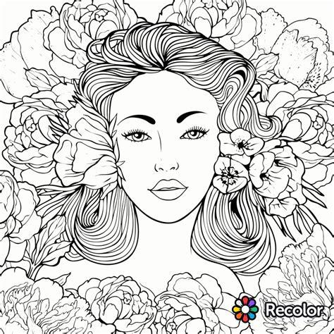 re color coloring page recolor app beautiful