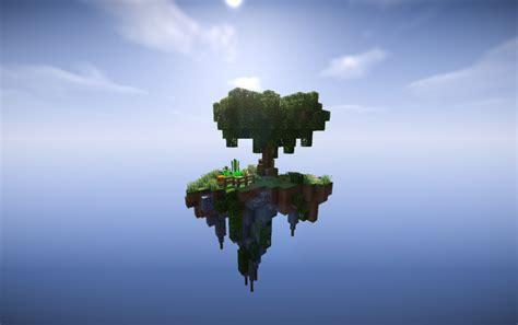 skyblock starter island schematic creation