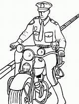 Police Coloring Officer Motorcycle Clipart Moto Colorir Policial Desenho Riding Policeman Desenhos Motor Tudodesenhos Lego Kleurplaat Clip Sheets Cristiano Ronaldo sketch template