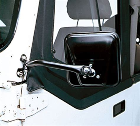 jeep wrangler side mirrors doors has anyone used these mirrors jeep wrangler forum